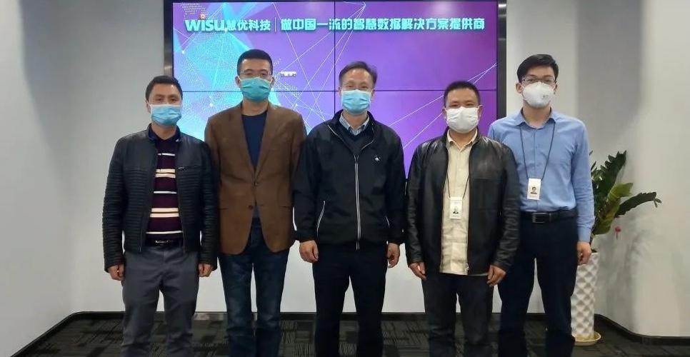 民建浙江省委会领导为慧优科技复产复工发展送指导